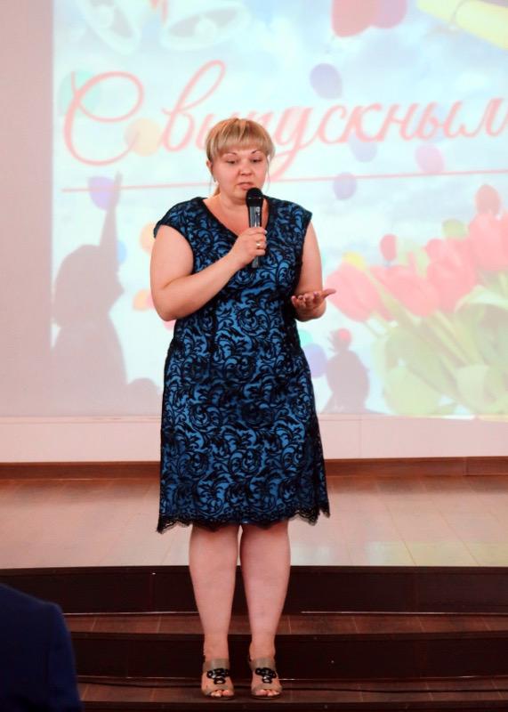 Торжественное вручение аттестатов прошло в школе в честь прп. Сергия Радонежского